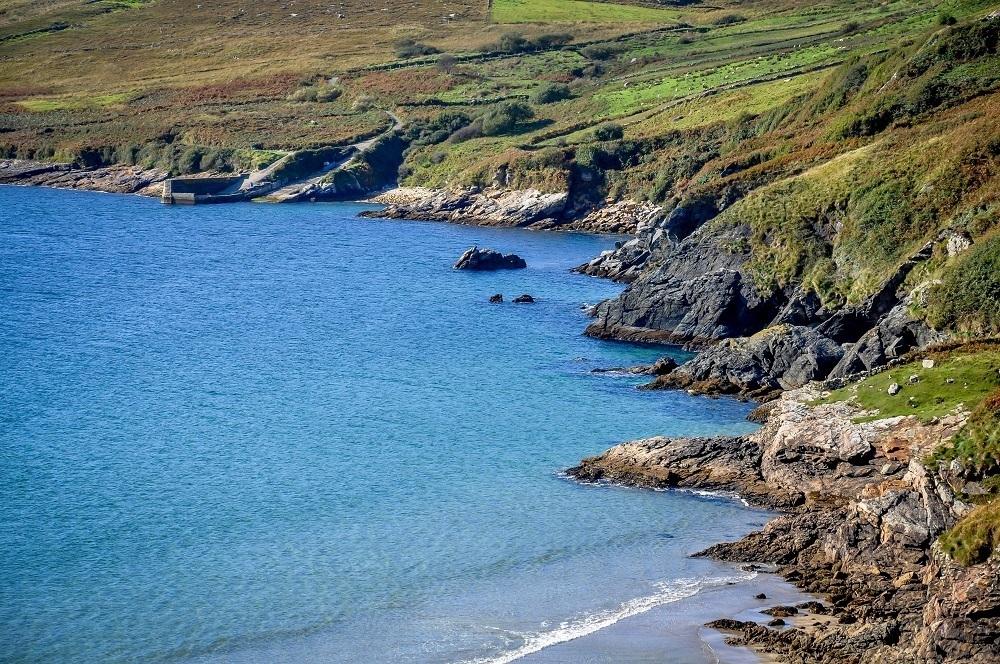 The Donegal coastline along the Wild Atlantic Way Ireland