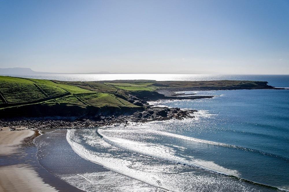 The coastline of Ireland's Wild Atlantic Way in Donegal