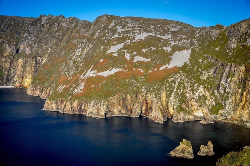 The sea cliffs of Slieve League