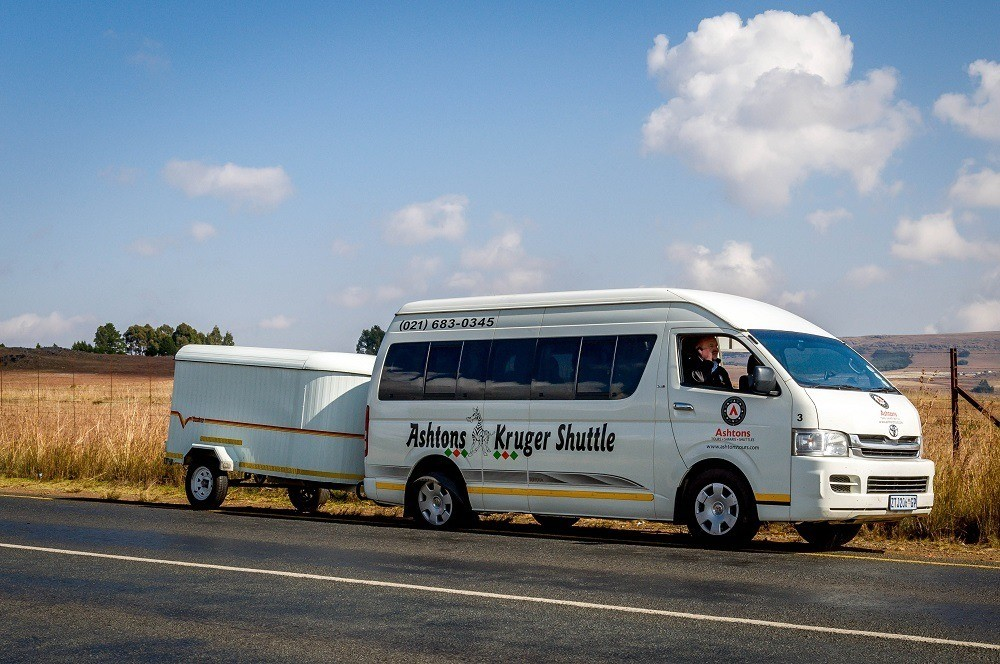Ashton's Kruger Shuttle mini-bus