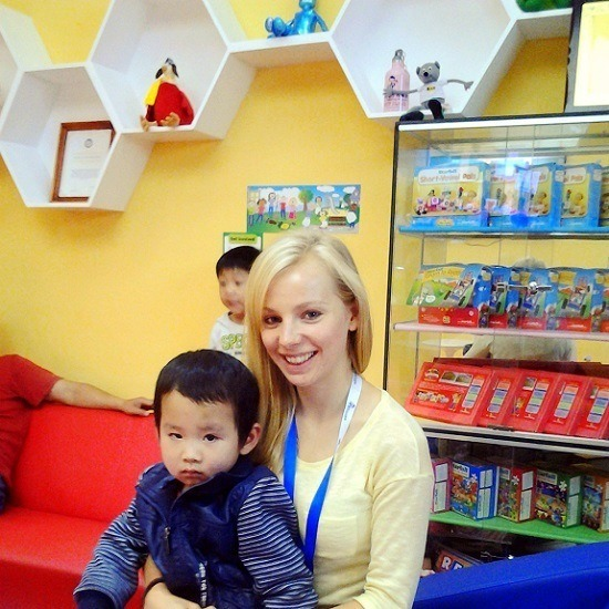 """Dongguan is more than the """"Sex capital of China.""""  It is home to everyday families.  Agness' Dongguan expat life focuses on teaching English to children."""
