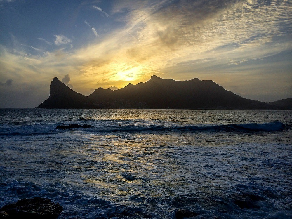 Sunset over Hout Bay, Cape Town