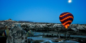 Using frequent flyer upgrades to travel to Cappadocia, Turkey.