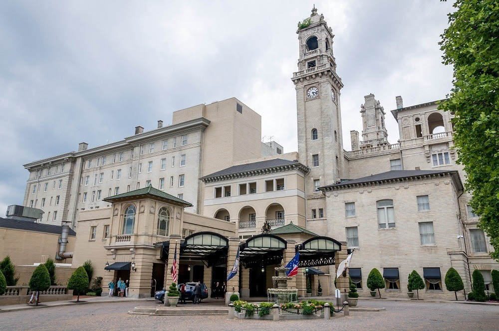 The Renaissance exterior of The Jefferson Hotel Richmond