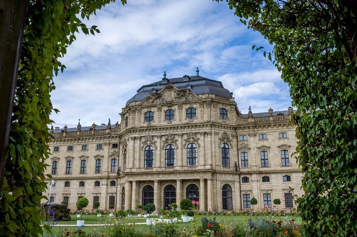 The Court Garden and The Würzburg Residence