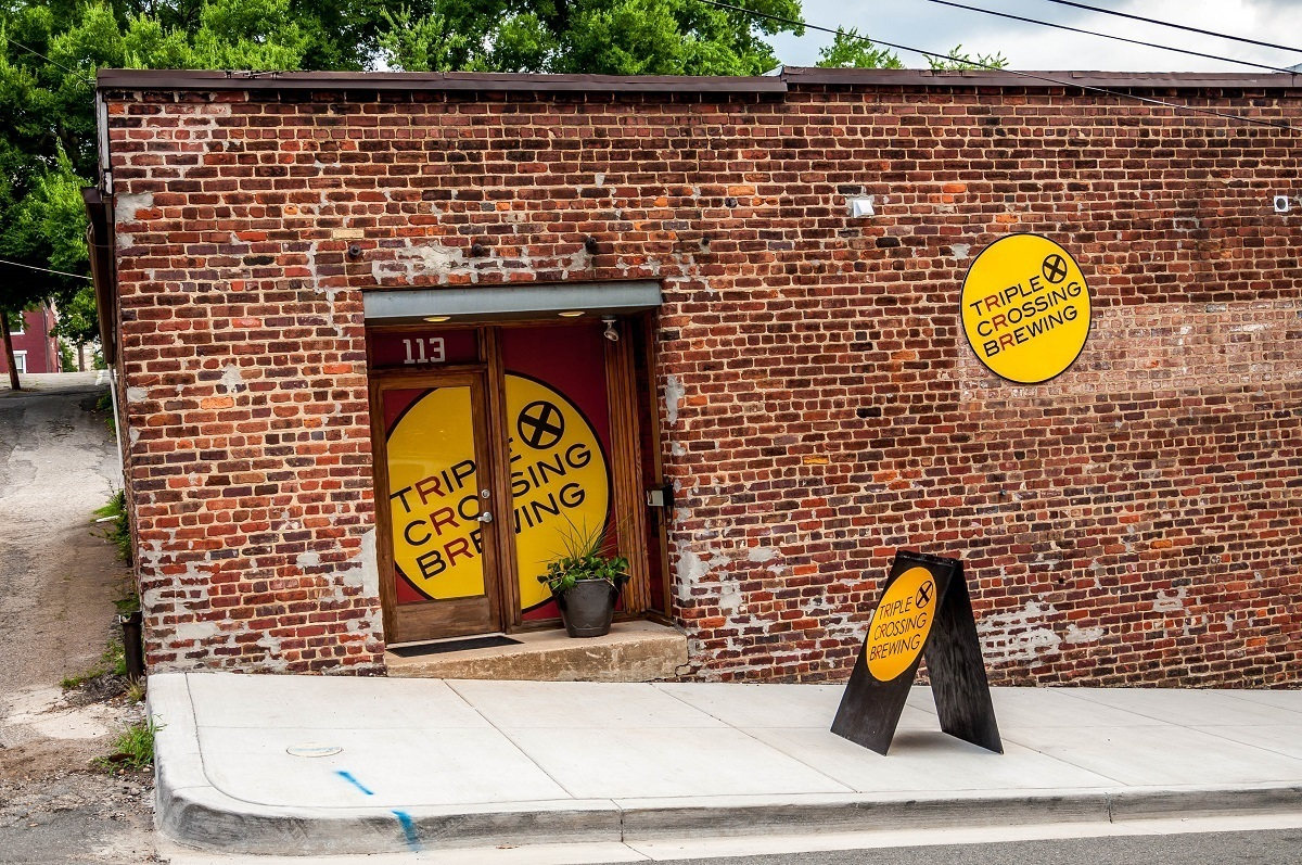 Triple Crossing Brewery, one of the best Richmond breweries