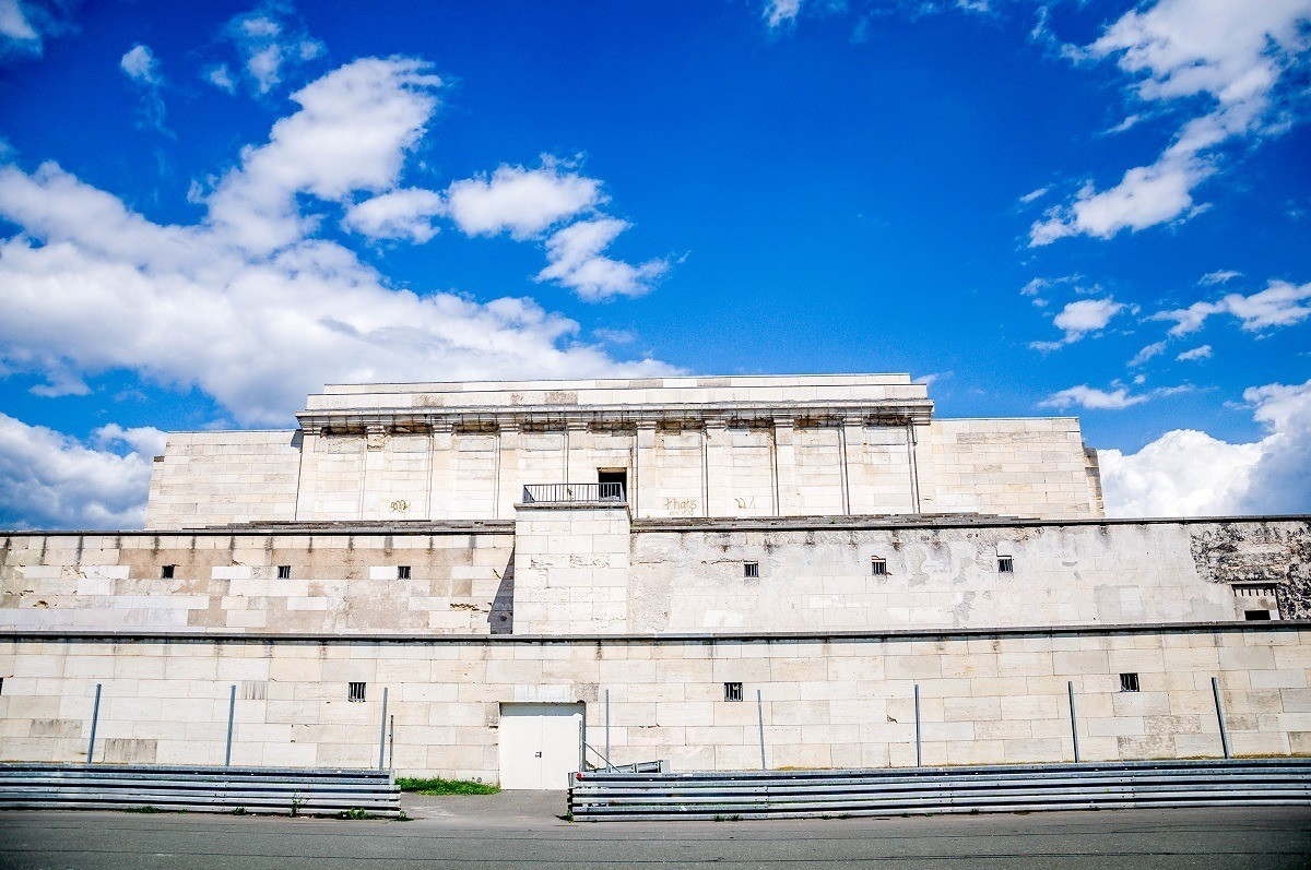 White, 3-story at the Nuremberg Nazi Party Rally Grounds