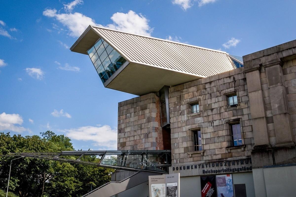 The Documentation Center in Nuremberg (Dokumentationszentrum Reichsparteitagsgelände) at the Rally Grounds.