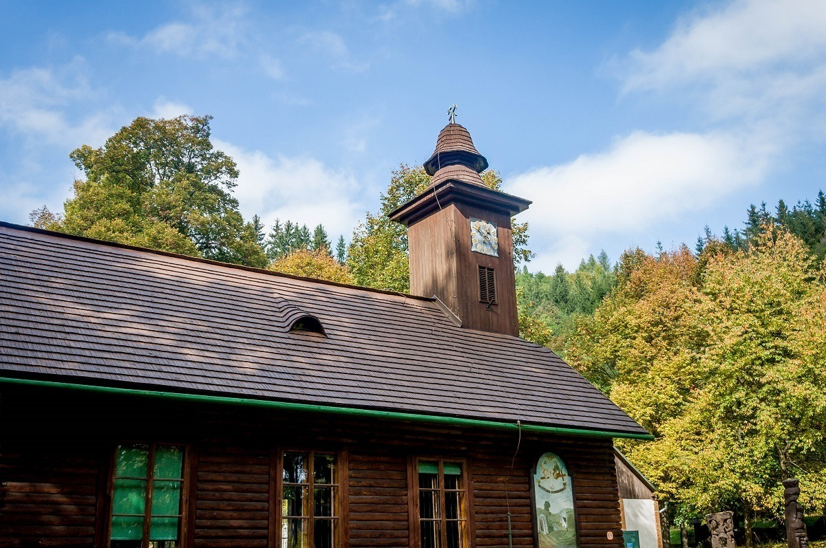 The small church at the Slovak Mining Museum