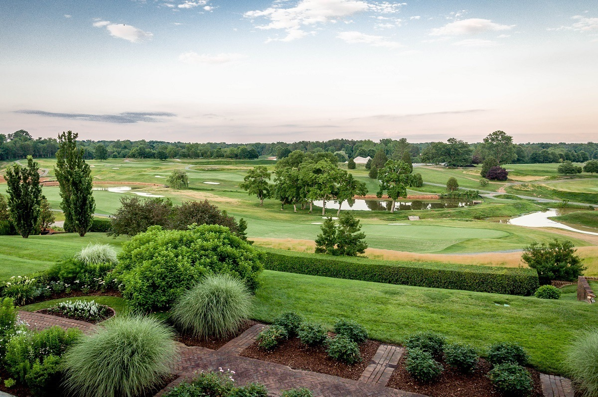 The Pete Dye Full Cry at Keswick Hall golf course