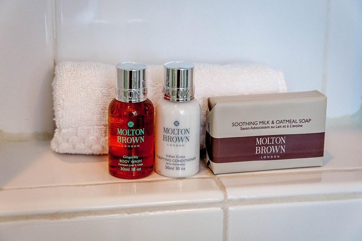 Molton Brown bathroom amenities