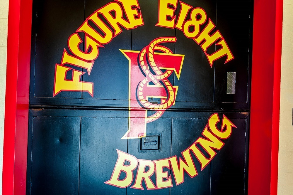 Figure Eight Brewing sign