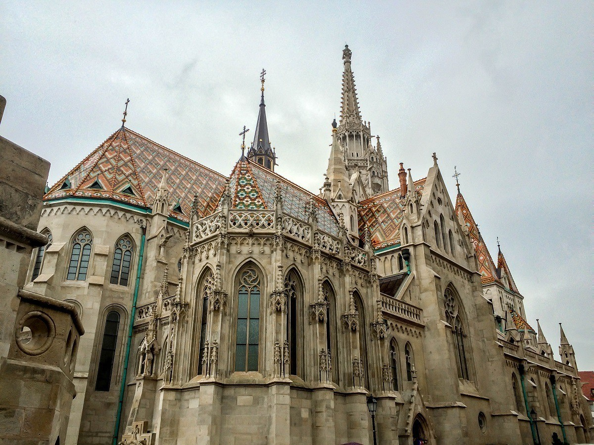 The St. Matthias Church on Castle Hill in Budapest