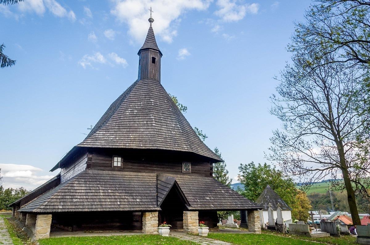 The Church of All Saints in Tvrdosin