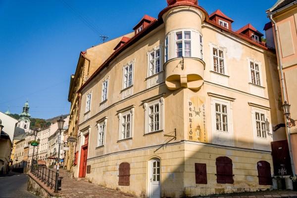 The Penzion Cosmopolitan II in Banska Stiavnica.