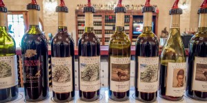 Wines from Becker Vineyards, one of the largest Texas wineries