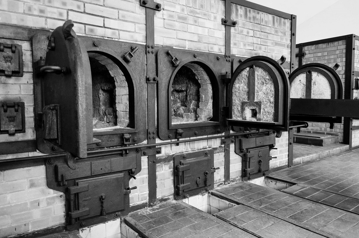 The concentration camp ovens at Buchenwald