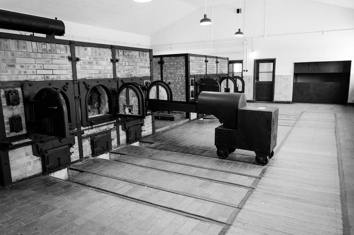 The Buchenwald Camp crematory ovens