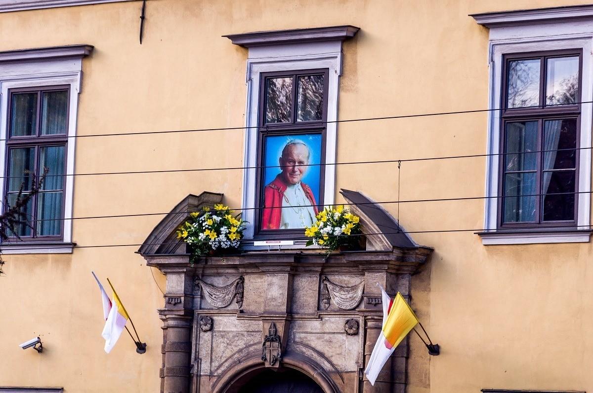 Pope John Paul II's residence in Poland