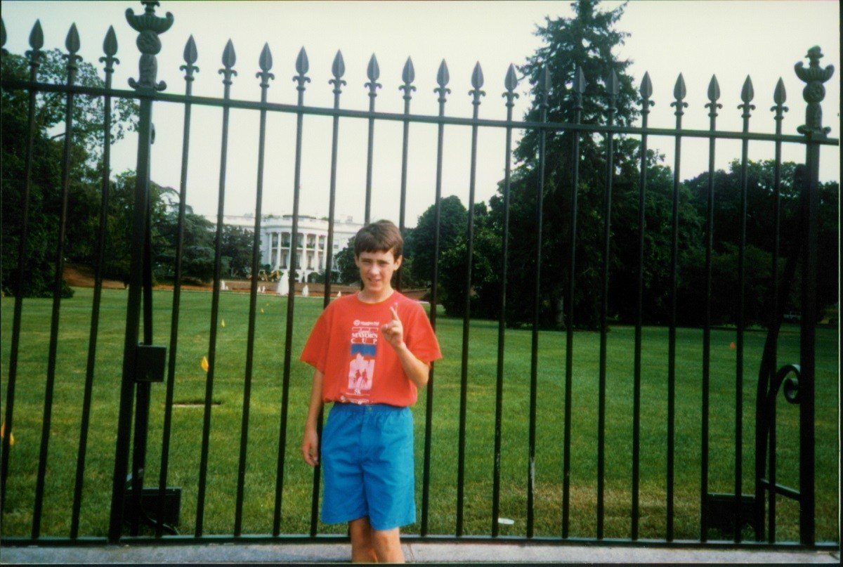 Lance at the White House