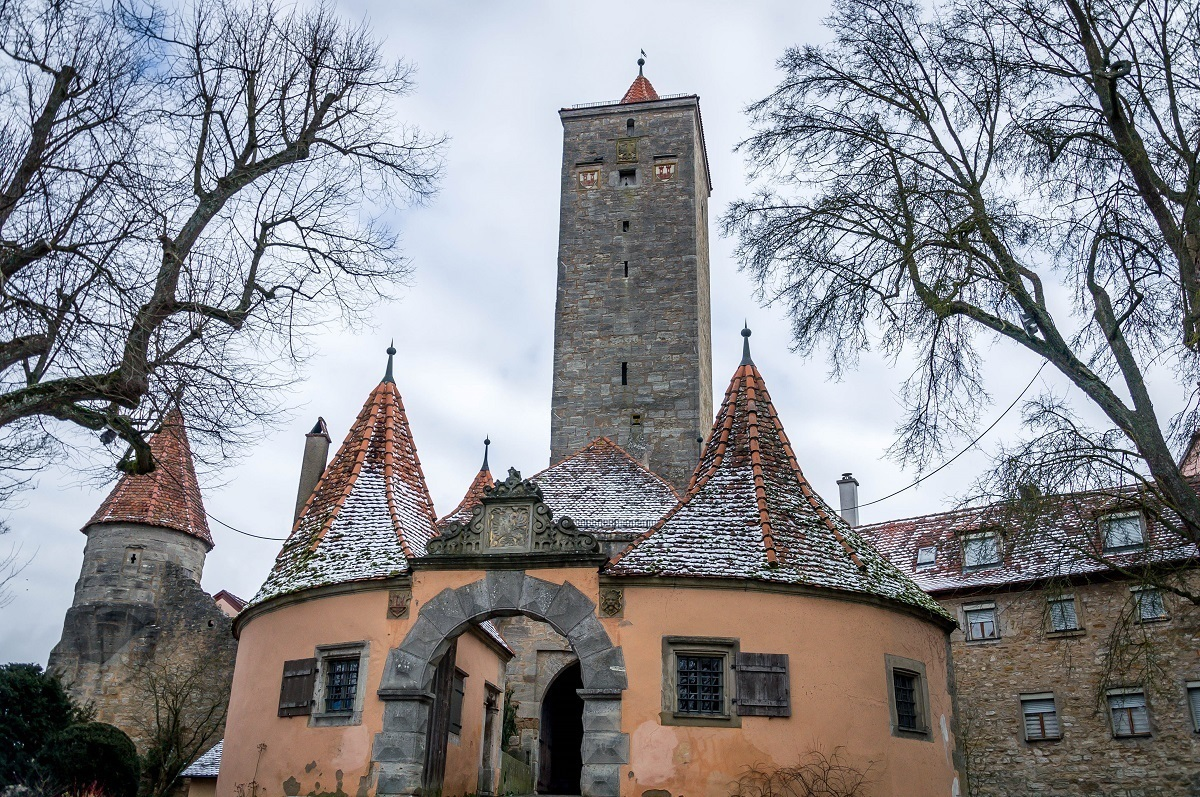 The Castle Gate in Rothenburg