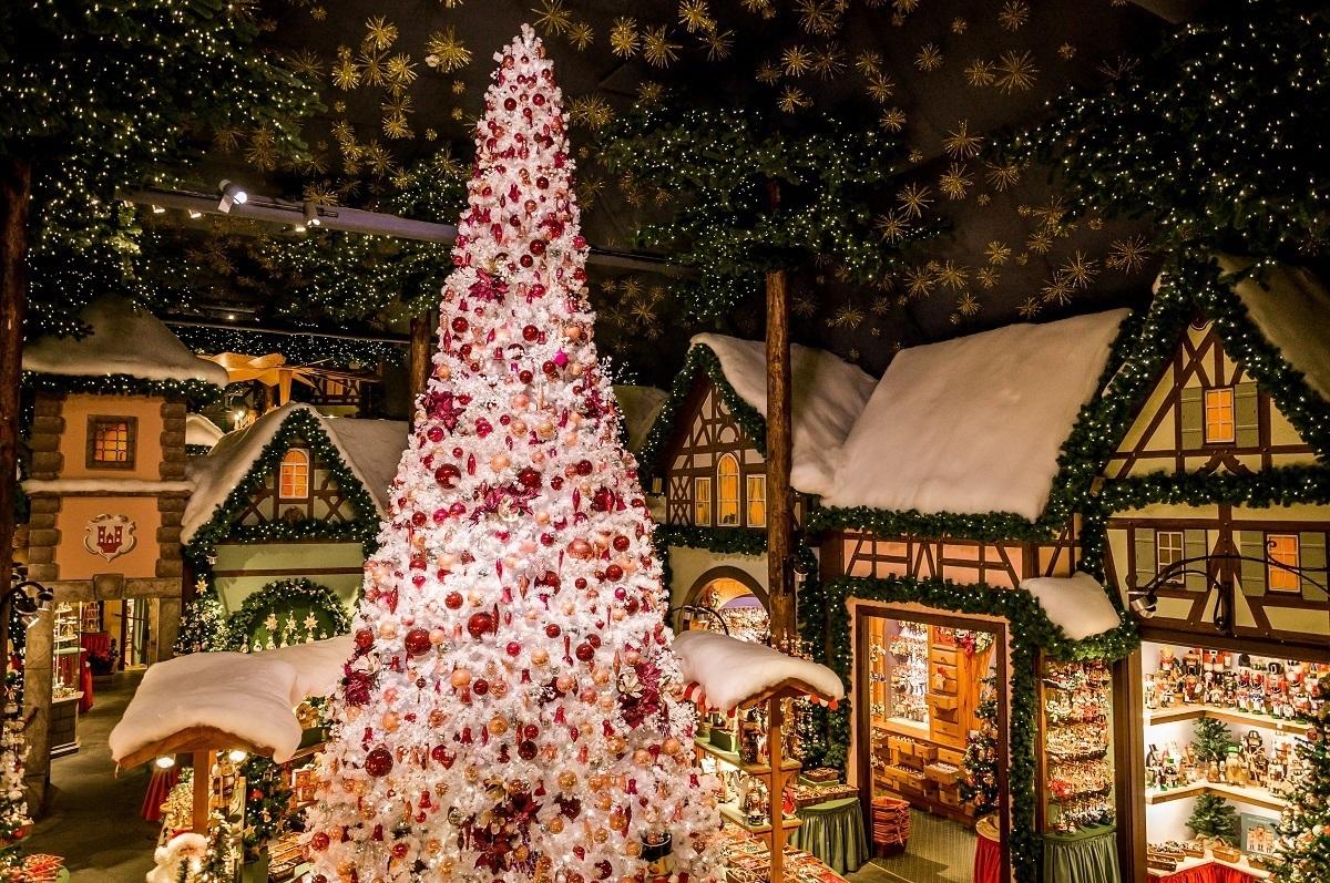 The Rothenburg Christmas store of Käthe Wohlfahrt