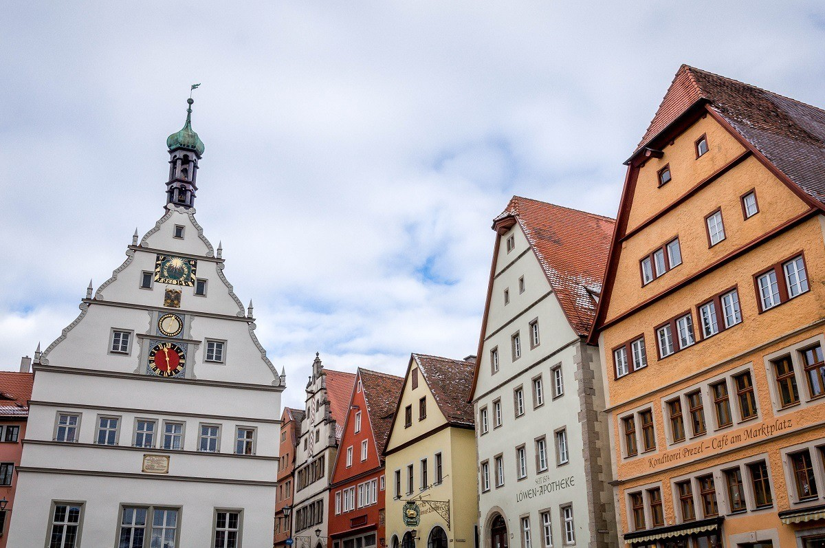The Town Clock in Rothenburg