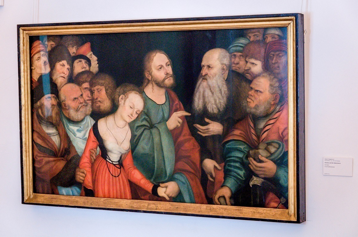 Christ and the Adultress