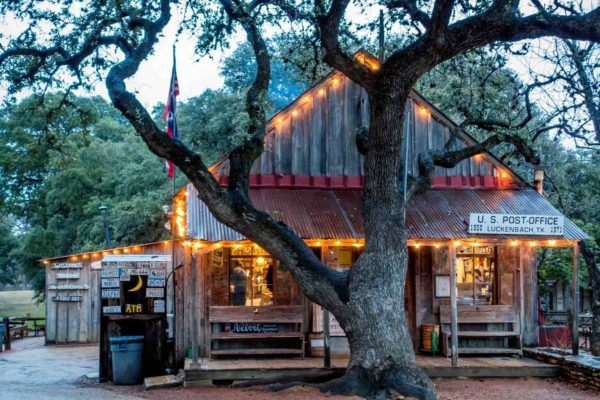 The Luckenbach, Texas, General Store