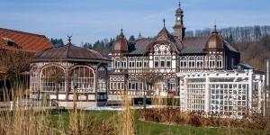 The Keltenbad spa in Bad Salzungen, Germany.