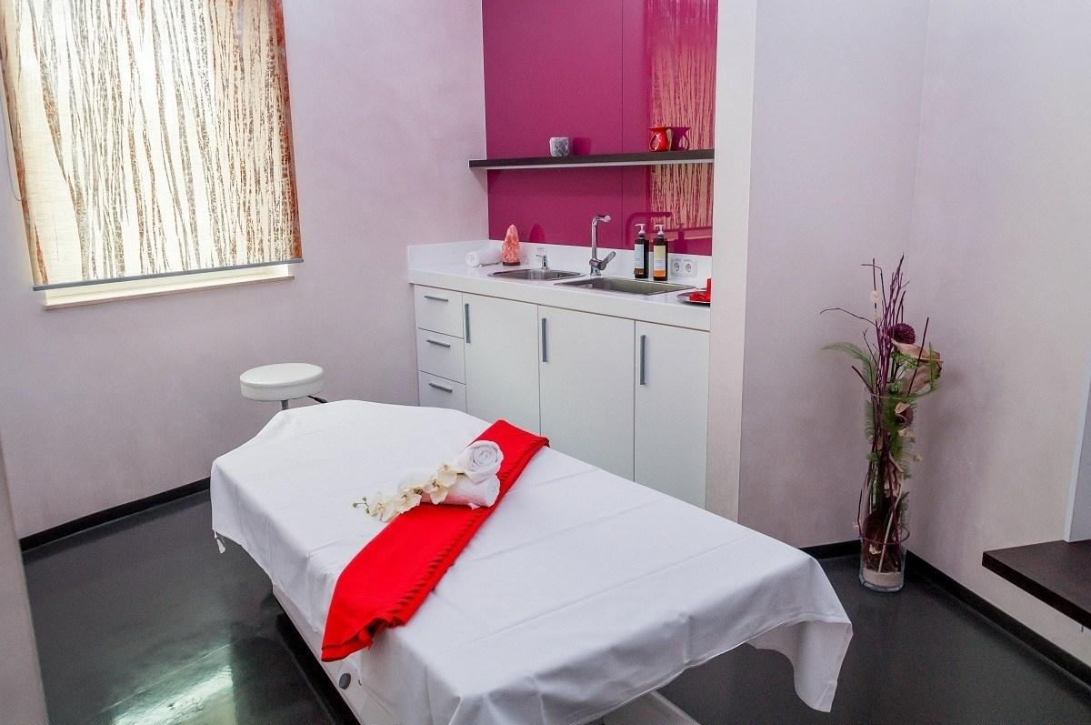 The massage room