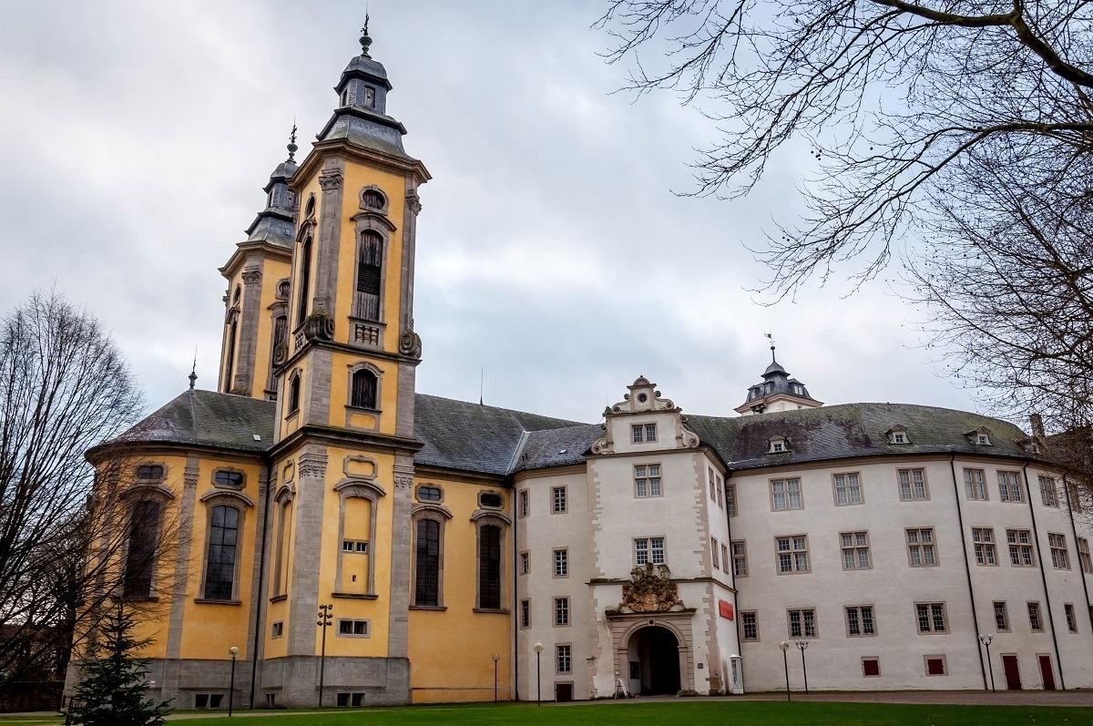 The Bad Mergentheim castle