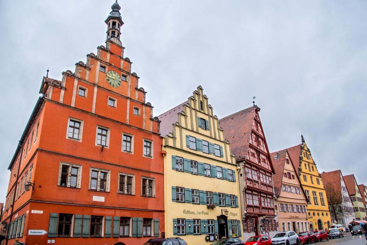 Buildings in Dinkelsbühl