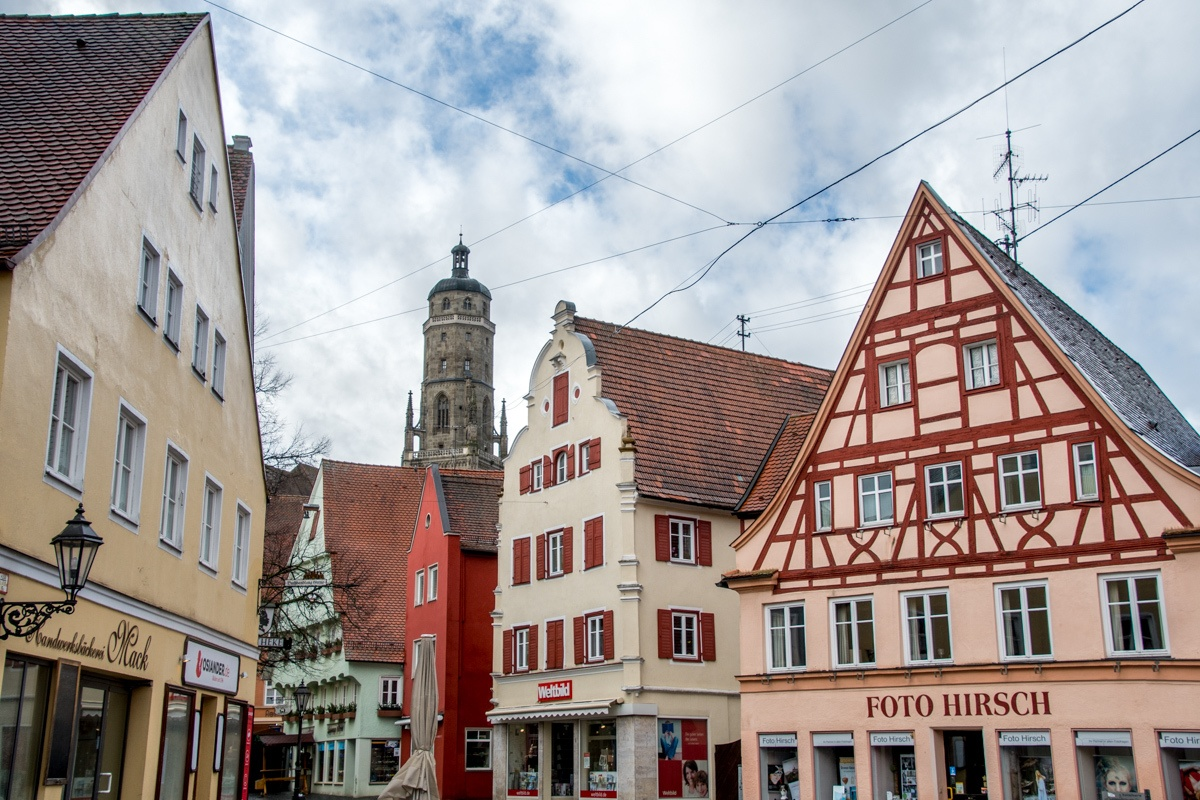 Nordlingen, the city built into a meteor crater