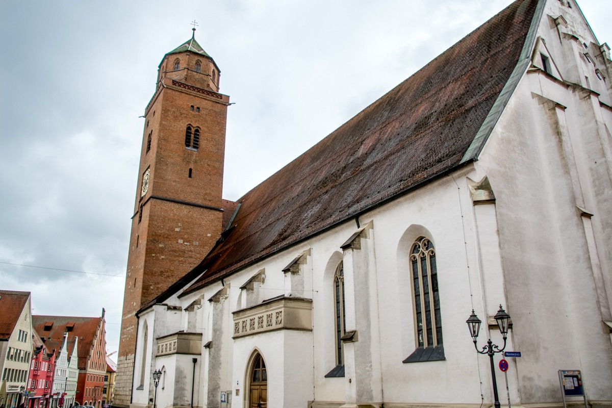The Donauwörth Cathedral in Germany
