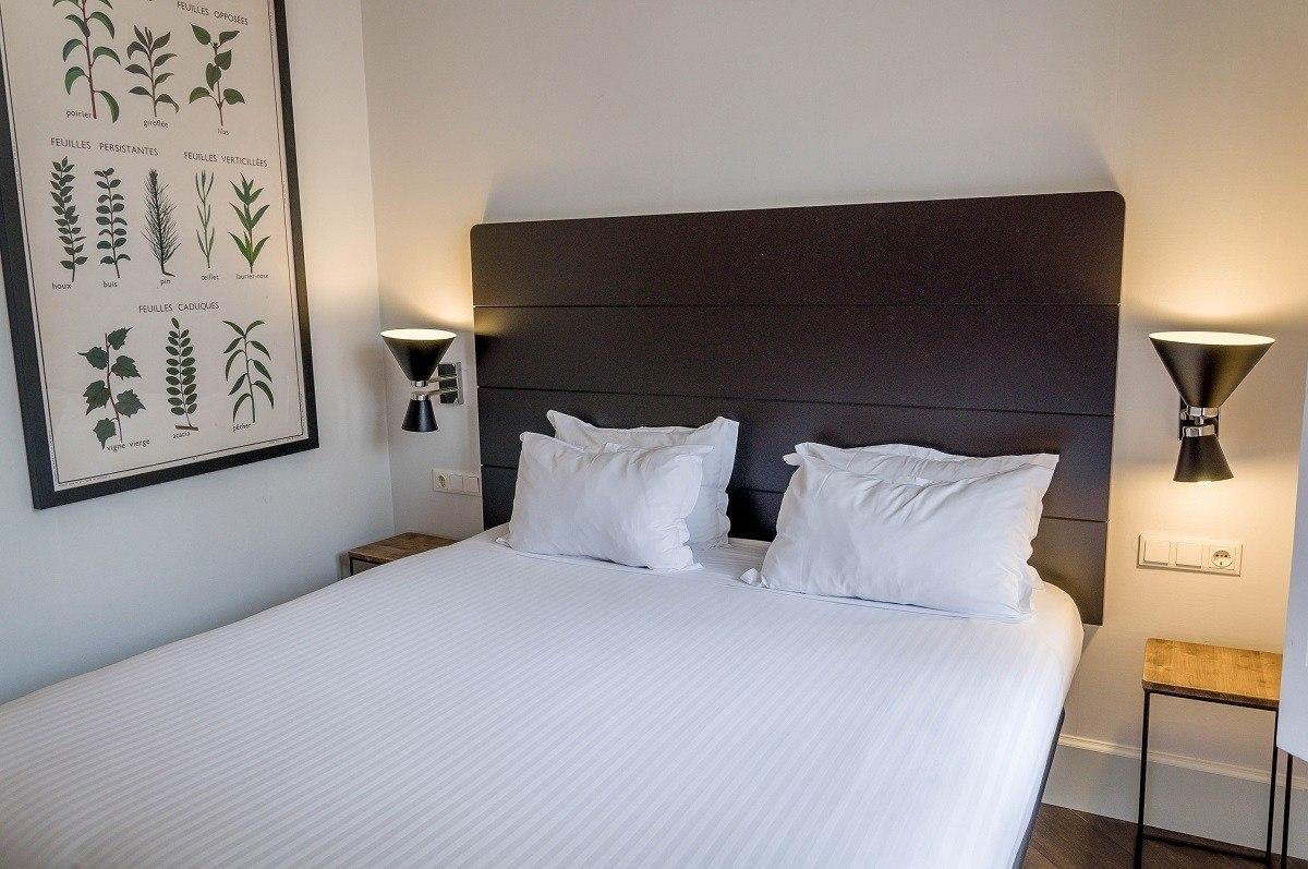 Bedroom at the Praktik Garden Hotel