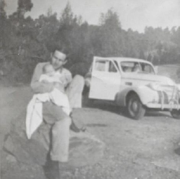 Carole Terwilliger Meyers and dad