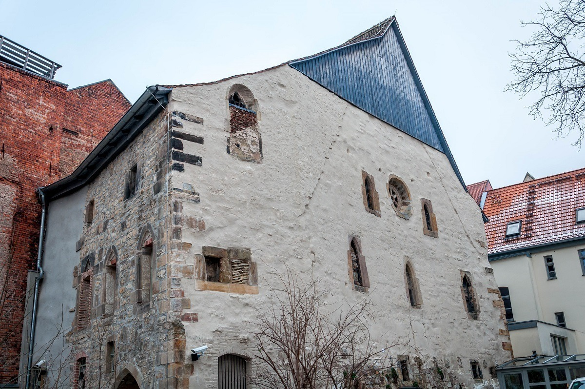 Exterior of the old Erfurt synagogue