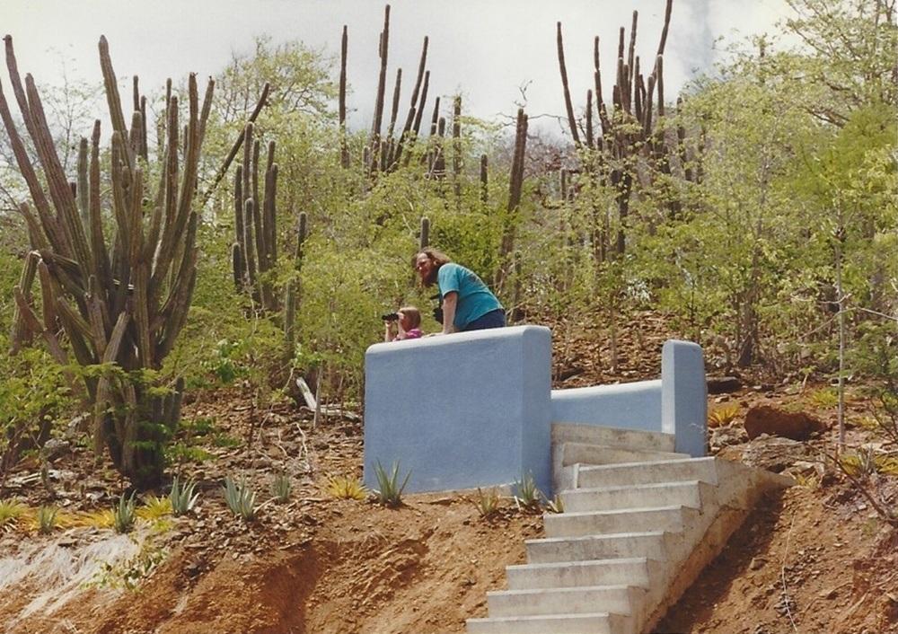 Jennifer Melroy in Bonaire