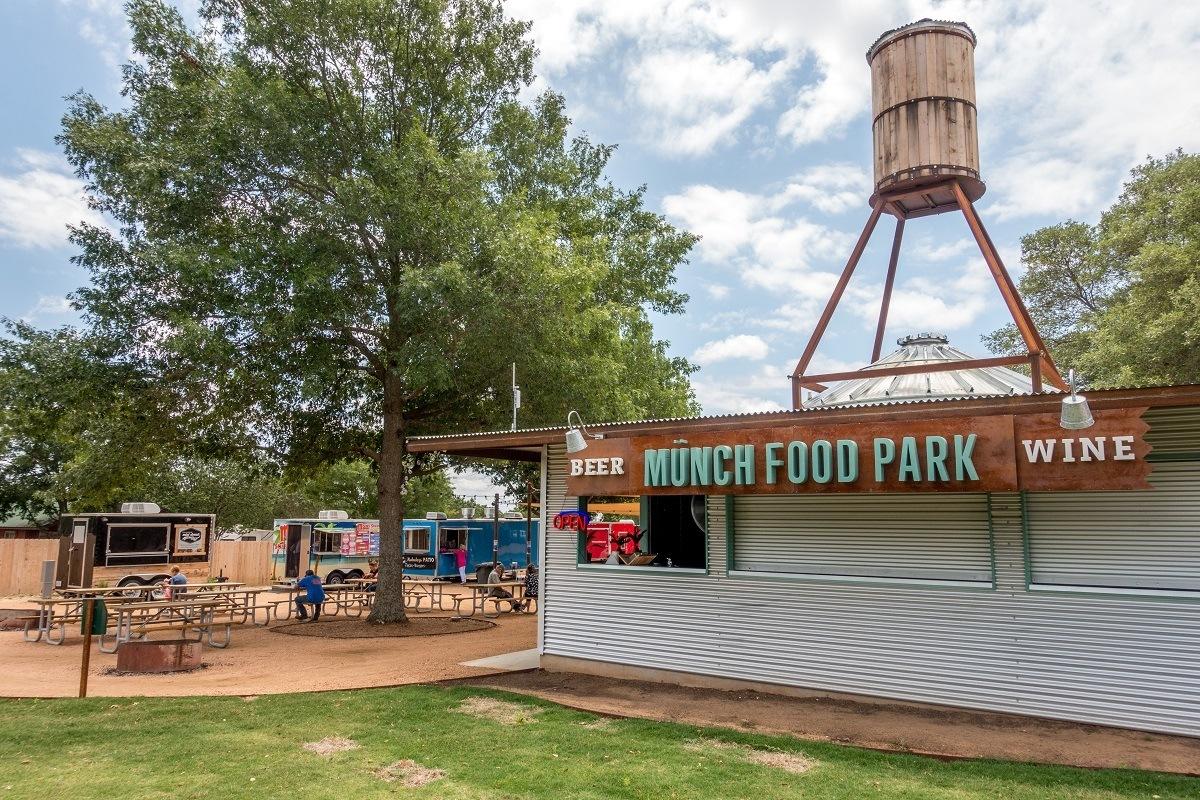 A food truck park