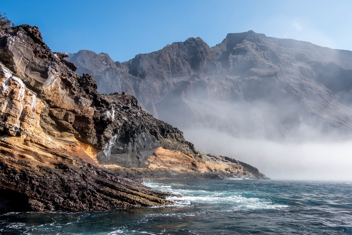 Punta Vicente Roca on Isabela Island in the Galapagos