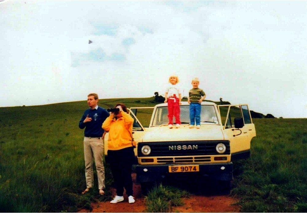 Jonathan Howe and family