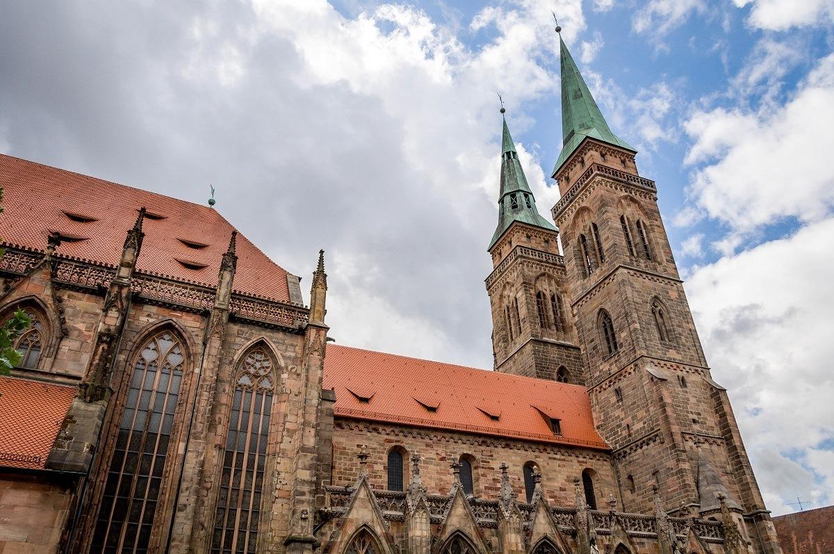 St. Sebald Church and belltowers
