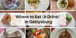 There's so much more to Gettysburg, Pennsylvania, than the Civil War. Here's where to eat and drink in this historic town.