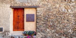 Sampling Andorran wine at Celler Casa Auvinya in the Principality of Andorra.