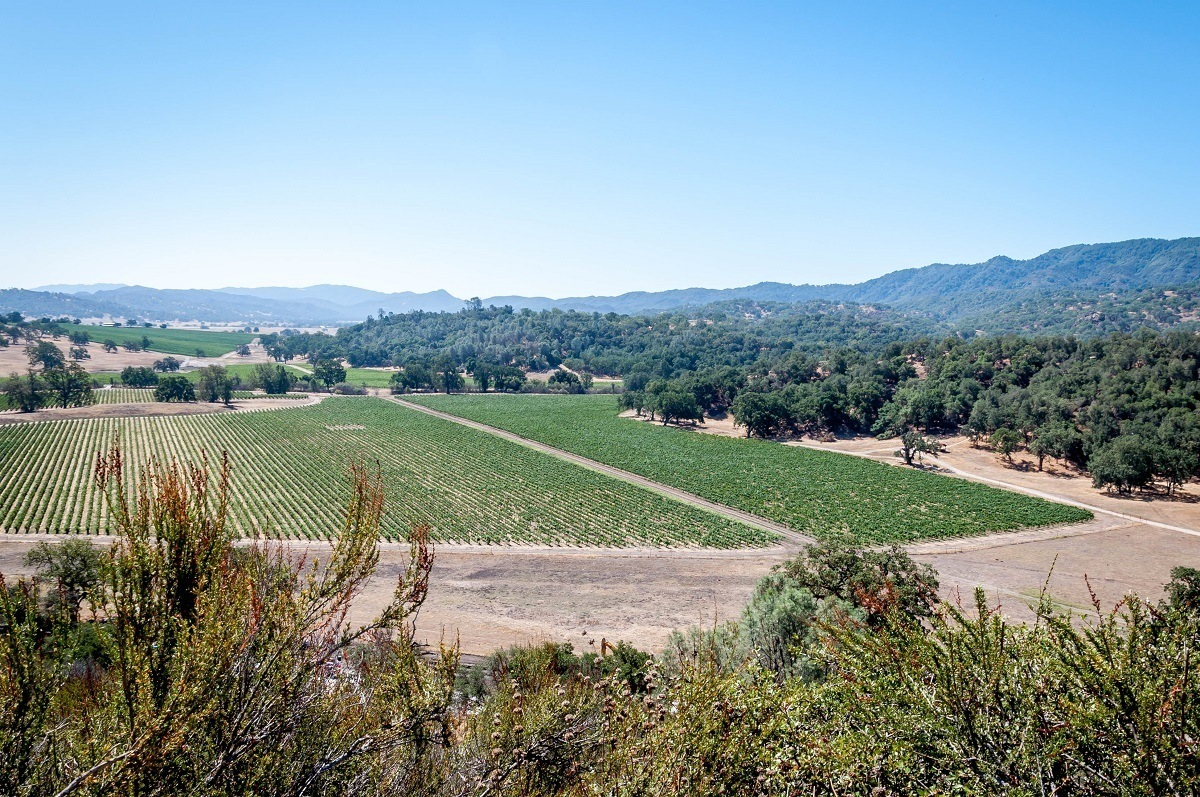 The Ancient Peaks Winery at Santa Margarita in Paso Robles