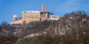 The Wartburg Castle in Eisenach where Martin Luther took refuge.