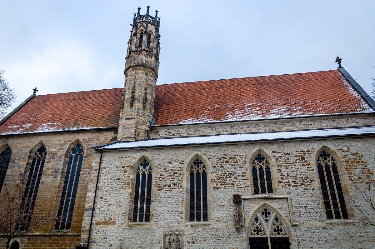 The Augustinian Monastery in Erfurt, Germany
