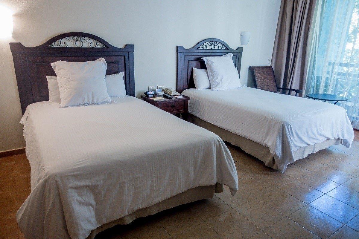 Standard room at the Occidental Grand Xcaret near Playa del Carmen