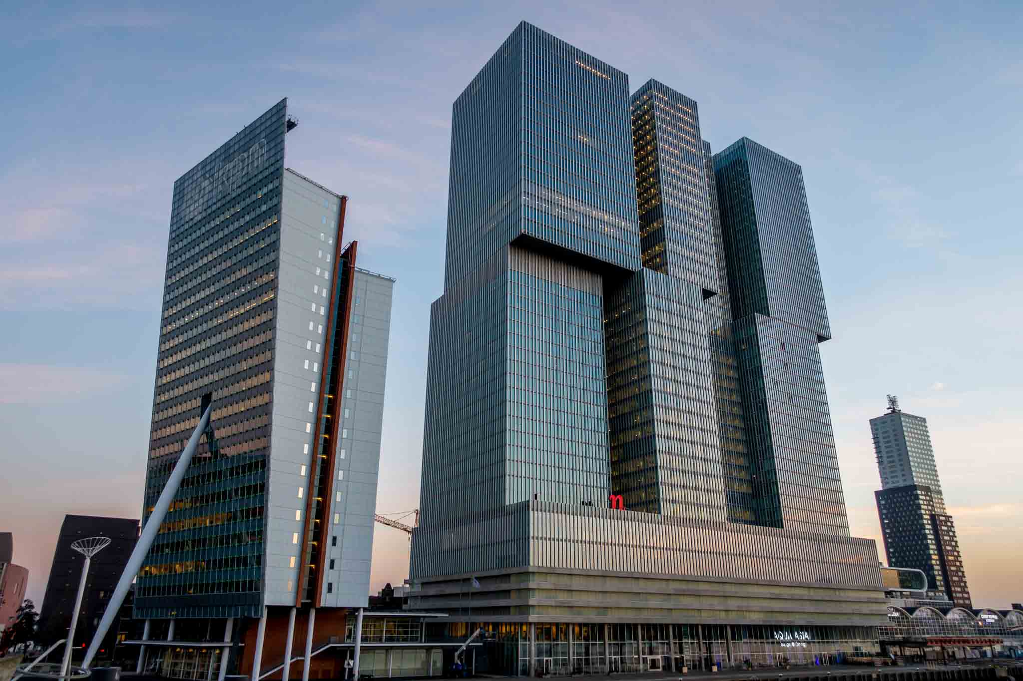 the eclectic enthralling architecture of rotterdam